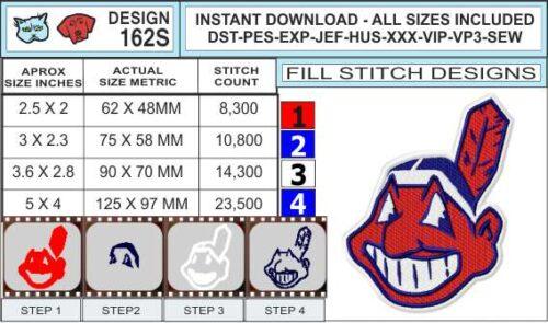 cleveland-indians-embroidery-design-infochart
