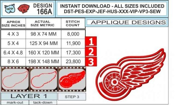 detroit-red-wings-applique-design-infochart