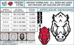 arkansas-razorbacks-applique-design-infochart