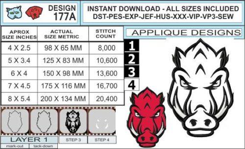 arkansas-razorbacks-applique-design-infochart