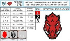 arkansas-razorbacks-embroidery-design-infochart