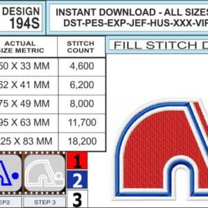 quebec-nordiques-embroidery-design-infochart