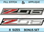 Corvette-c7-z06-Embroidery-Logo-Set-blucatreddog.is
