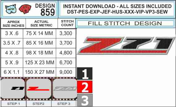 chevy-truck-z71-logo-embroidery-design-infochart