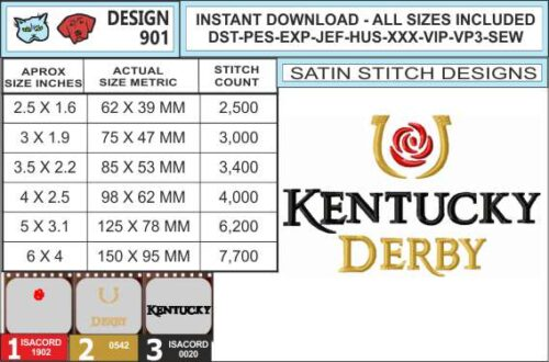 kentucky-derby-embroidery-design-infochart