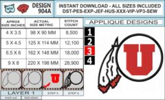 utah-utes-applique-design-infochart
