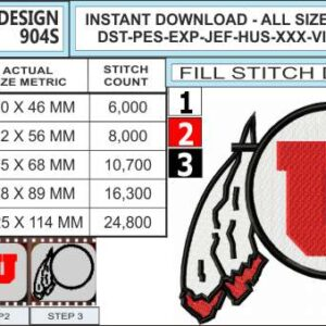 utah-utes-embroidery-design-infochart