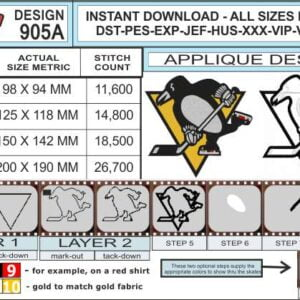pittsburgh-penguins-applique-design-infochart