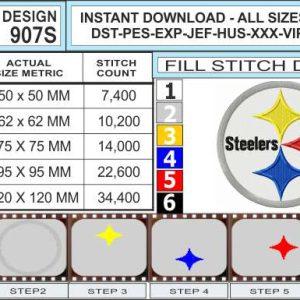 Pittsburgh-steelers-embroidery-design-infochart