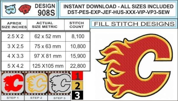 calgary-flames-embroidery-design-infochart