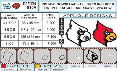 louisville-cardinals-applique-design-infochart