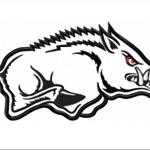 Arkansas-Razorbacks-logo-applique-designs
