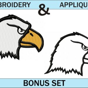 Eagle-head-logo-embroidery-and-applique-designs-bonus-set