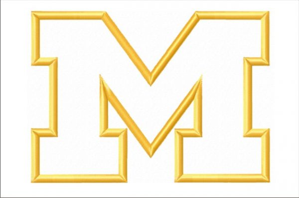 Michigan-Wolverines-M-logo-applique-designs