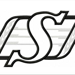 Saskatchewan Ruffriders-logo-applique-designs