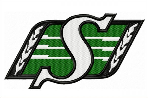 Saskatchewan Ruffriders-logo-embroidery-designs