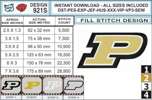 Purdue-University-embroidery-design-infochart