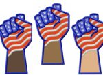 USA-Resisit-Fist -applique-embroidery-design
