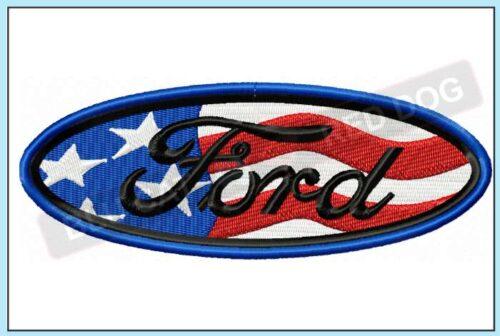 Ford-USA-embroidery-design-blucatreddog.is