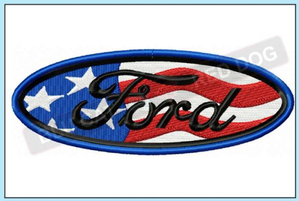 Ford-USA-embroidery-design-blucatreddog.is