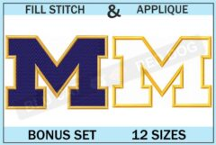 michigan-wolverines-embroidery-logo-set-blucatreddog.is