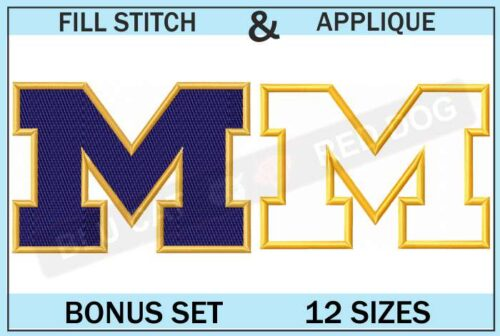 michigan-wolverines-embroidery-logo-set-blucatreddog.is