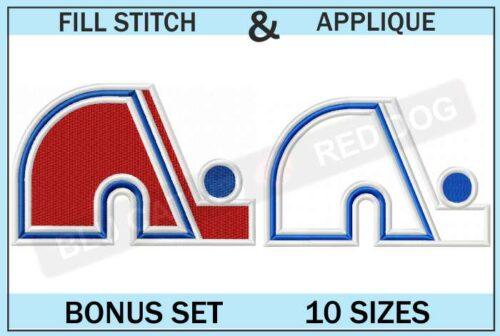 quebec-nordiques-embroidery-logo-set-blucatreddog.is