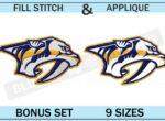 nashville-predators-embroidery-logo-set-blucatreddog.is