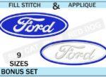 Ford-embroidery-logo-set-blucatreddog.is