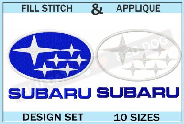 subaru-embroidery-logo-set-blucatreddog.is
