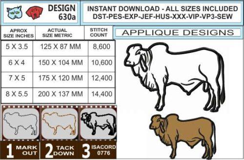 brahman-cow-applique-design-infochart