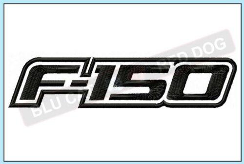 Ford-F150-embroidery-logo-blucatreddog.is