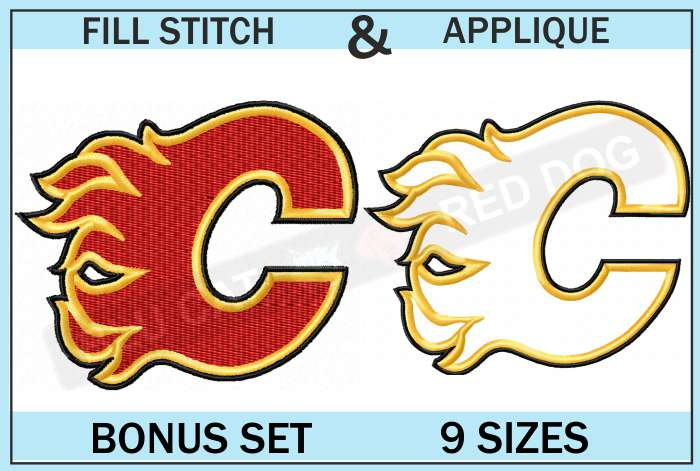 calgary-flames-embroidery-logo-set-blucatreddog.is