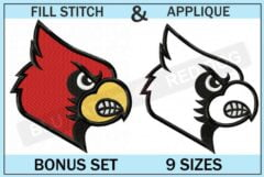 louisville-cardinals-embroidery-logo-set-blucatreddog.is
