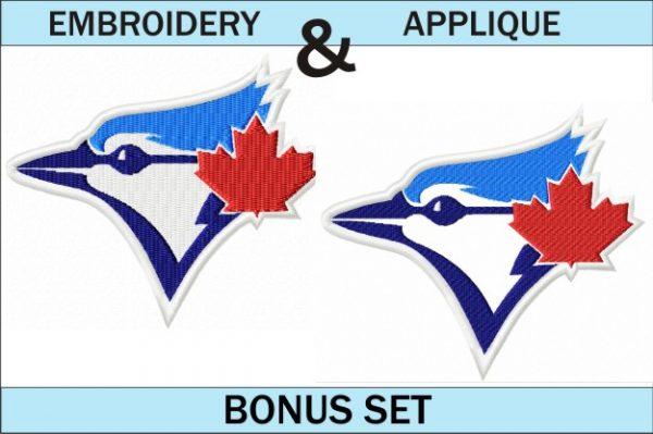 Toronto-Blue-jays-logo-embroidery-and-applique-designs-bonus-set
