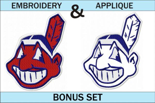 Cleveland-indians-logo-embroidery-and-applique-designs-bonus-set