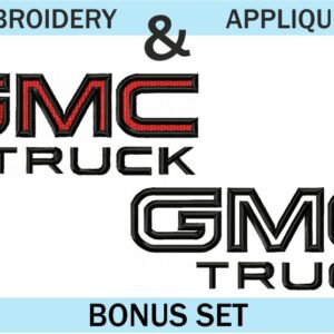 GMC-Truck-Logo-embroidery-&-applique-designs-set