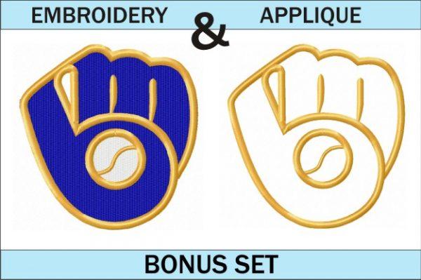 Milwaukee-Brewers-logo-embroidery-and-applique-designs-bonus-set
