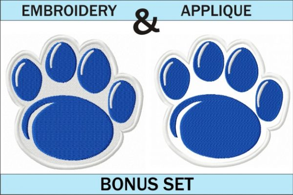Penn State Paw Embroidery & Applique