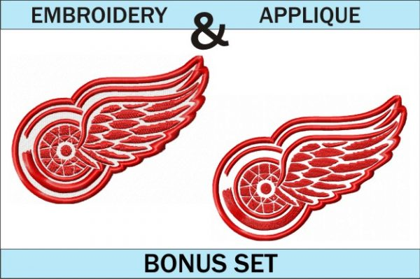 Detroit-Red-Wings-logo-embroidery-and-applique-designs-bonus-set