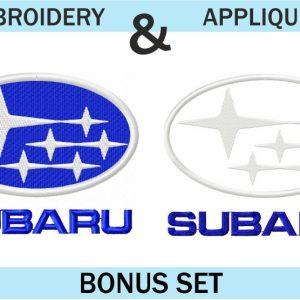 Subaru-Logo-Embroidery-&-applique-design-set