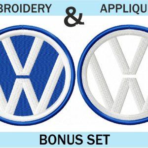 VW-Volkswagon-Logo-Embroidery-&-applique-design