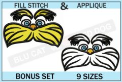 dr-seuss-lorax-embroidery-set-blucatreddog.is