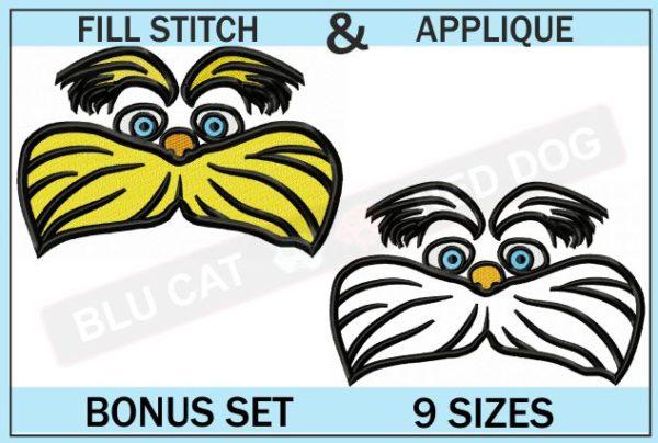 dr-seuss-lorax-embroidery-set-blucatreddog.is