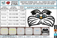 dr-seuss-lorax-applique-design-infochart
