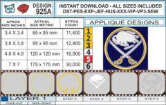 buffalo-sabres-applique-designinfochart