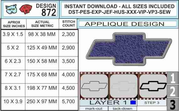 chevy-logo-applique-design-infochart