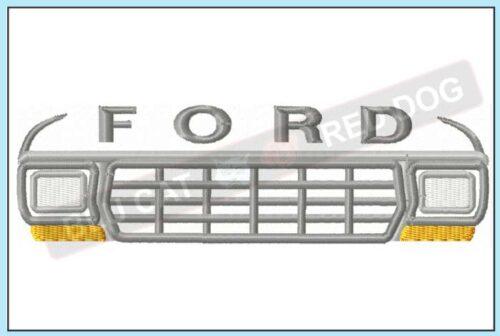 Ford-F150-embroidery-design-blucatreddog.is