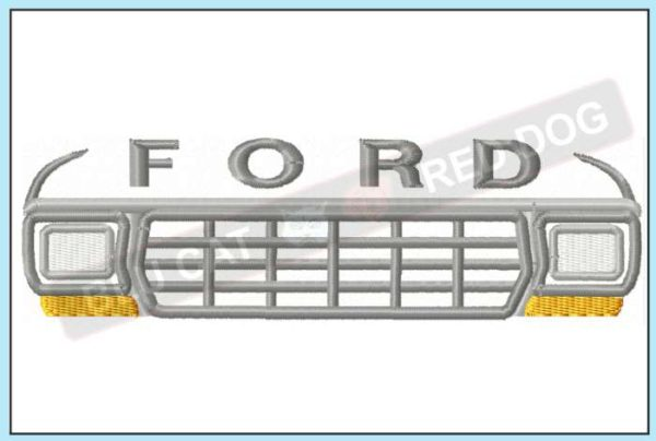Ford-F150-embroidery-design-blucatreddog.is