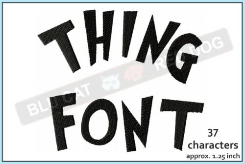 Thing-embroidery-font-blucatreddog.is